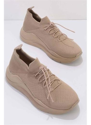Bambi Kadın Sneaker K01816221182 Taba